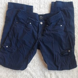 Kuhl 4 reg cargo pants blue